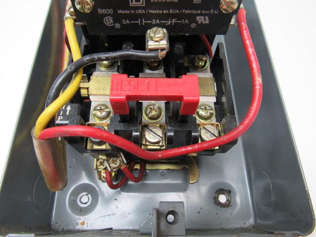 Square D Class 8536 Nema 0 Motor Starter Type Sbg2 240v