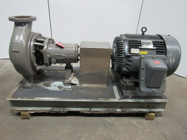FLOWSERVE DURCO 3K8x6-14ARV/12.50 MK3 STD/TL405TTGS Chemical Process Pump 100HP