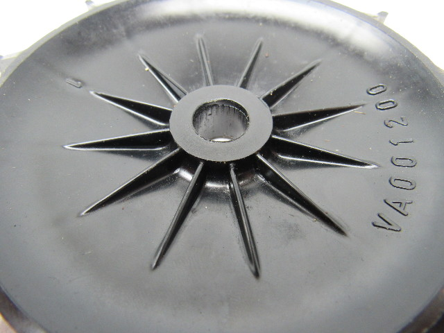 Electric Motor Fan Blades : Leroy somer va plastic electric motor fan blade