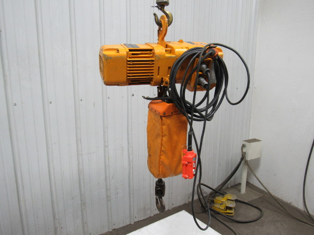 113601 harrington ner010l 1 ton electric chain hoist 12lift16fpm 230v 3ph harrington hoist 460 volt wiring diagram gandul 45 77 79 119  at readyjetset.co