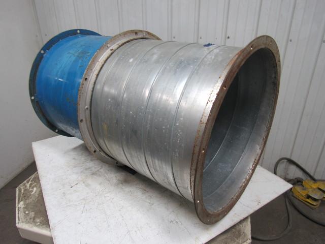 Binks 30 240 8 24 Quot Paint Booth Exhaust Fan Tubeaxial W