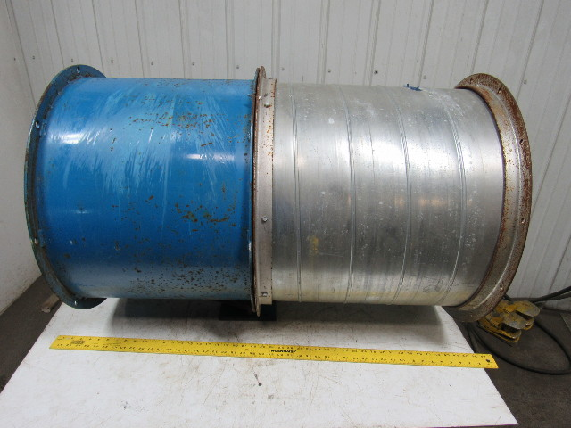 Paint Booth Axial Exhaust Fans : Binks quot paint booth exhaust fan tubeaxial w