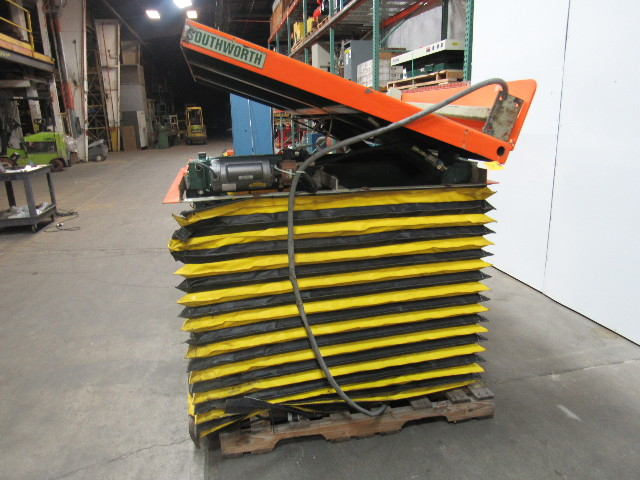 Southworth Ls4 36 Lift Amp Tilt Table 3000lb 36 Quot Lift 20deg