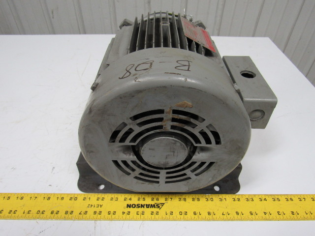 General Electric 5K184AL217C 5HP Electric Motor 3PH 230 ...