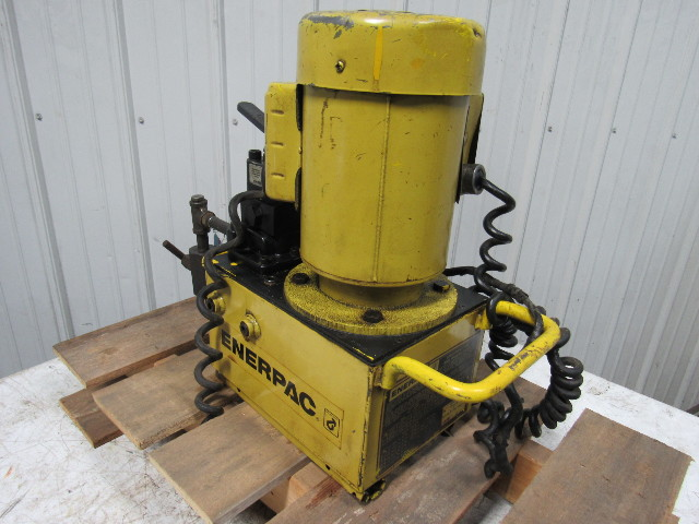 Enerpac Pem3602b 30000 Submerged 10 000psi Max  Electric