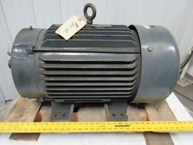 Baldor cm4109t 40 hp 230 460v 3ph electric motor 324tsc for 40 hp dc motor