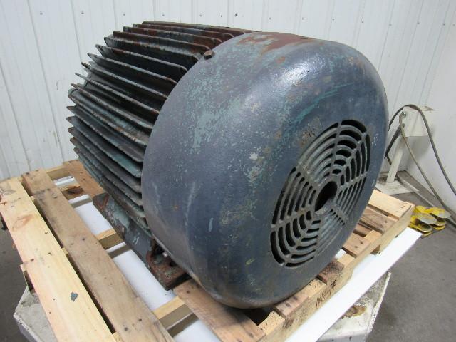 Ajax Ke 445ttfs7029dd W 150hp Electric Motor 460v 3ph 445t