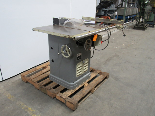 Delta 34 450 10 Quot Unisaw Table Saw 3ph 480v W Extended