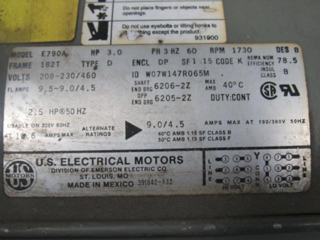 Gast 6066 v103 3 hp rotary vane oil less vacuum air pump motor gast publicscrutiny Image collections