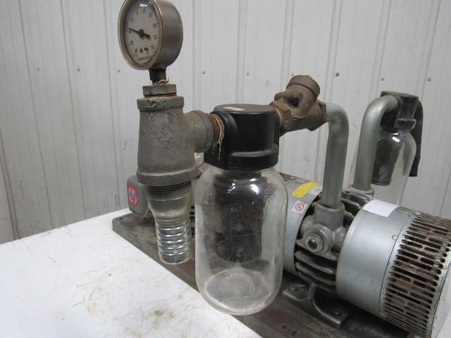 gast 6066-v103 3 hp rotary vane oil-less vacuum air pump ... canister vacuum cleaner wiring diagram gast vacuum pumps wiring diagram