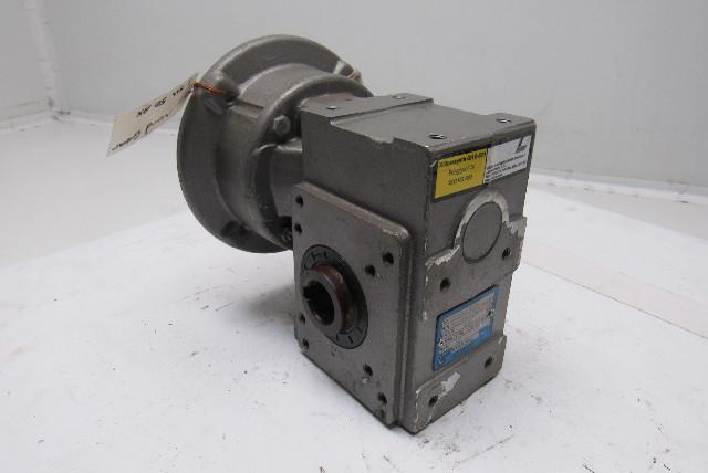 Nord gear 1su50ax hollow shaft worm gear speed reducer 18 for Hollow shaft worm gear motor