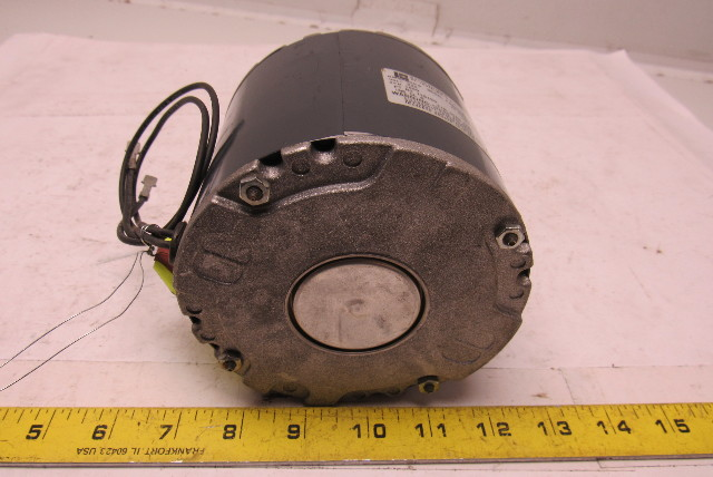Emerson F48HXDZP-2106 1/12HP Electric Motor 230V 1 Phase 1550RPM 42Y ...