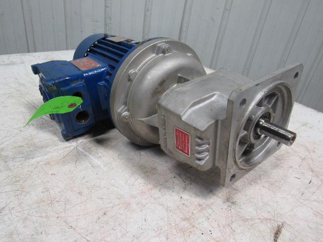 Bonfiglioli S201 F P80 Gear Speed Reducer W 1hp 280 480v