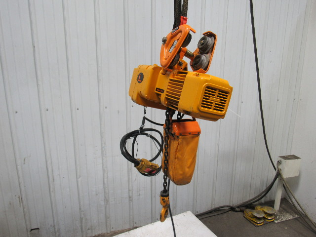 130161 harrington size b ner005l 1 2 ton electric chain hoist 10 lift 460v 3ph tested harrington hoist wiring diagram karr wiring diagram \u2022 free wiring  at soozxer.org