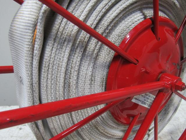 Wirt Amp Knox Swing Type Large Fire Hose Storage Reel W 75