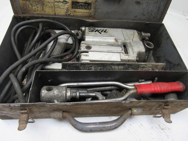 Skil Model 706 Heavy Duty Roto Hammer Drill Case And