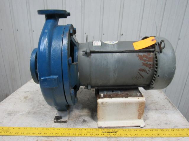 Ingersoll Dresser D824 3x1 5x13 Centrifugal Pump 7 5 Hp