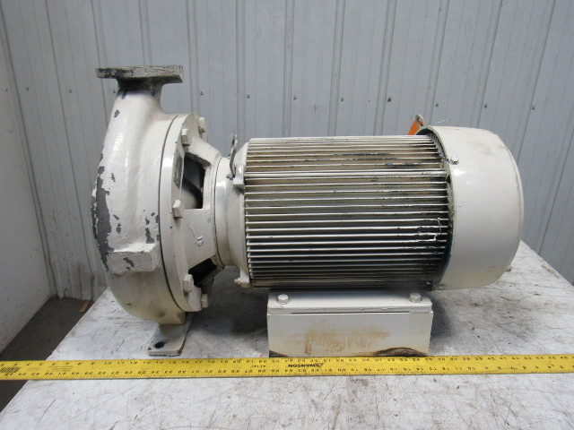 Ingersoll Dresser D824 3x1 5x13 Centrifugal Pump 20 Hp 230