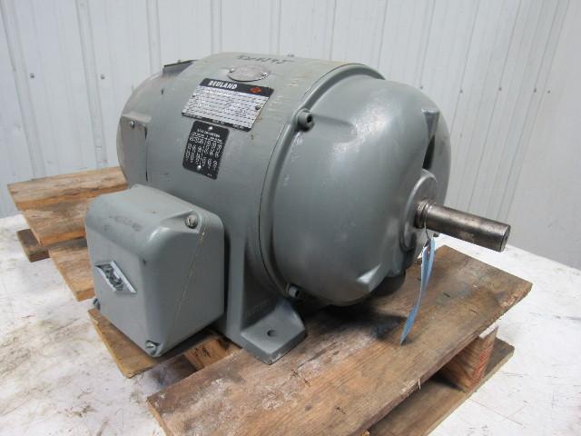 Reuland 03 440v Ac Motor