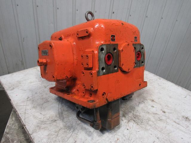 Dual Shaft Hydraulic Motor : Oilgear dp hydraulic pump dual output quot shaft