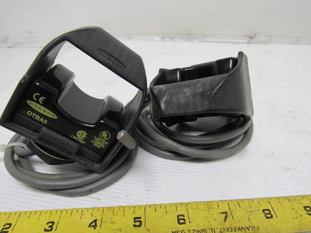 Banner Otba5 120v Touch Finger Sensor Actuator Switch Two