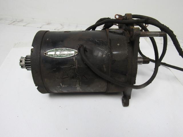 Auto lite mcp 4007 12v dc forklift project motor spline for Dc motors car sales