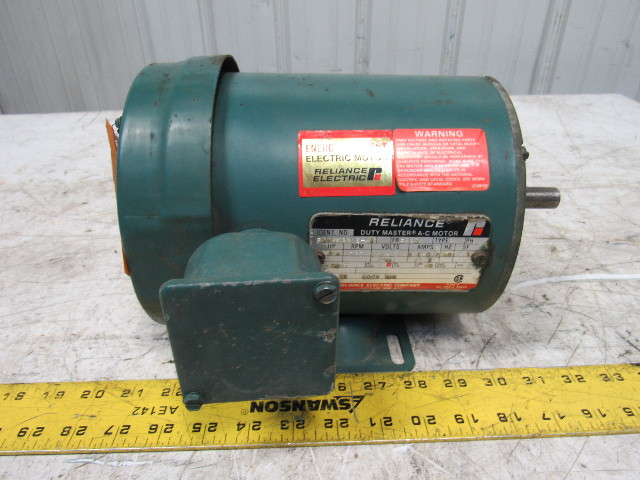 Reliance electric p56h1301s vn 3 4hp 3ph 208 230 460v for Reliance electric motor parts
