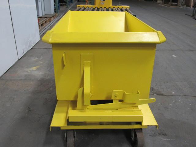 1 4 Yard 25 Yd Rolling Self Dumping Chip Trash Scrap