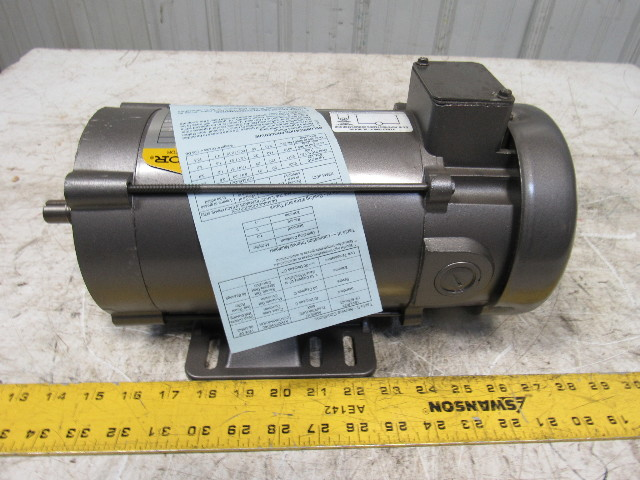 Baldor cdp3440 3 4hp 1750rpm 90vdc 56c 5 8 shaft dc for Electric motor shaft repair