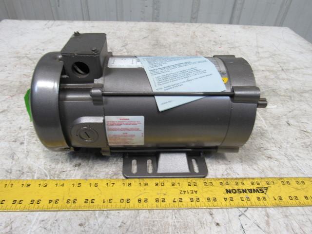Baldor cdp3440 3 4hp 1750rpm 90vdc 56c 5 8 shaft dc for 3 4 shaft electric motor