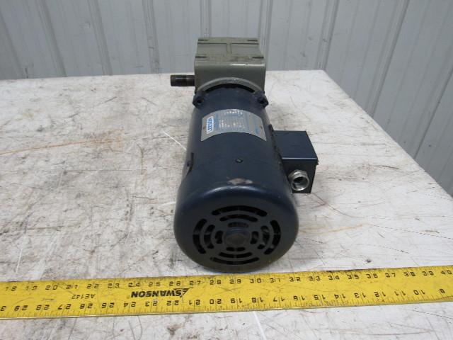 Leeson 90vdc electric motor w us motors 40 1 for Electric motor repair reno nv