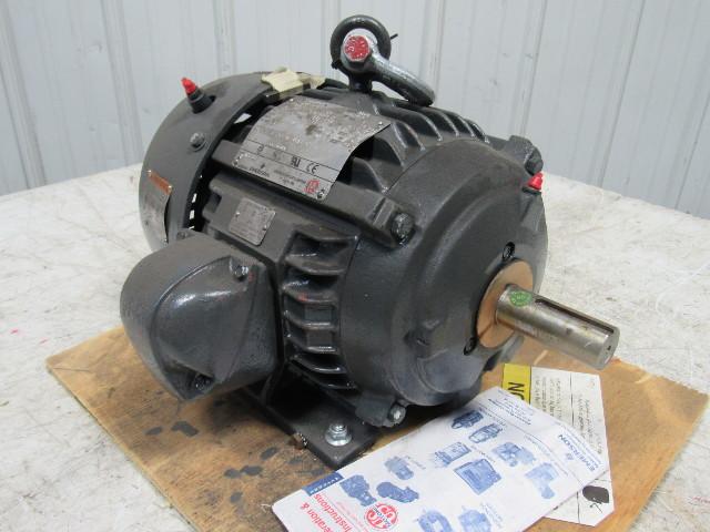 Us motors emerson 8p5p2c 5ph electric motor 1765rpm 460v for Emerson electric motor parts