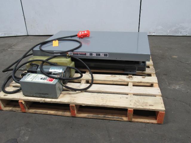"""AMERICAN MFG 1000LB 115/230V 1Ph Scissor Lift Table 39""""x25"""