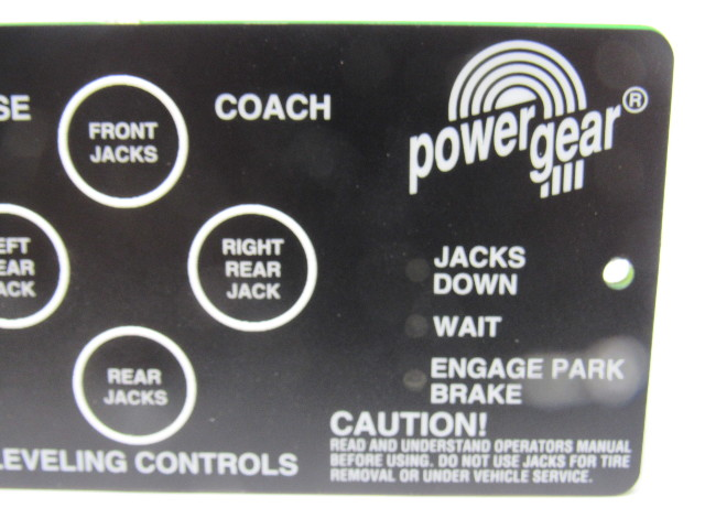 Push To Connect Fittings >> Powergear 500731 RV Automatic Jack Leveling Control Board ...