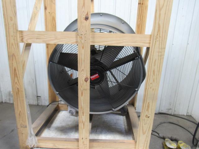 Commercial Air Circulator : Dayton lxn quot industrial air circulator fan cfm