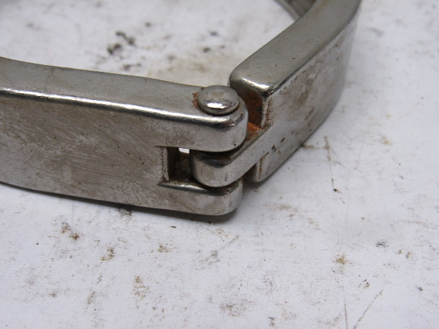 Quot tri clover style stainless steel sanitary fitting hinge