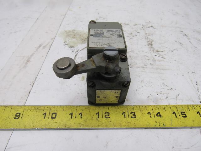 Square D 9007c68t5 Electric Limit Switch 2 No Nc Neutral W