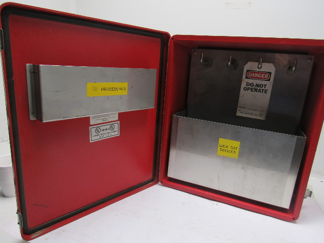 14x14x6 Quot Loto Safety Lock Out Tag Out Equipment Storage