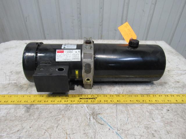 Dayton Haldex 9zn48a 4f686a 4gpm 2hp 3450rpm 230 460v 60hz Hydraulic Pump Bullseye