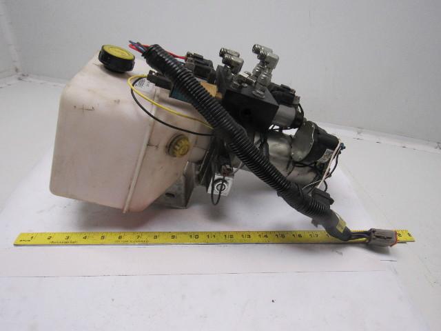Used Welders For Sale >> Lippert LCI 12V Hydraulic 4 Valve Pump Assembly | Bullseye ...