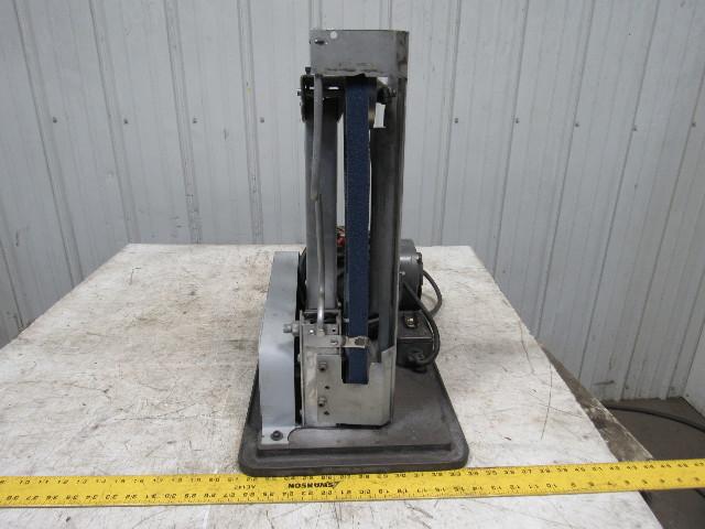 1 2hp 1725rpm Vertical Bench Belt Knife Profile Grinder