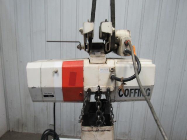 Coffing Ec4016 3 2 Ton Electric Chain Hoist 15 Lift 16fpm