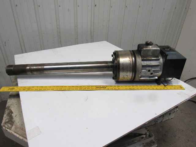 Kitagawa F1768H-01 Hydraulic Actuator W/Draw Tube From an Okuma LC20-2ST
