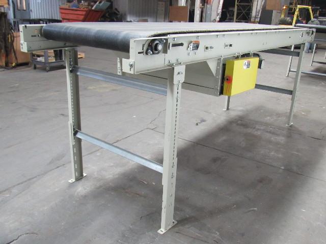 36 Quot X12 Center Drive Slider Bed Belt Conveyor 67 Fpm 208