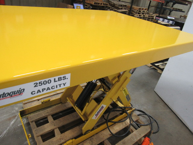 "Autoquip 36S25 2500 LB Scissor Lift Table 6-1/2""-42-1/2""HT"