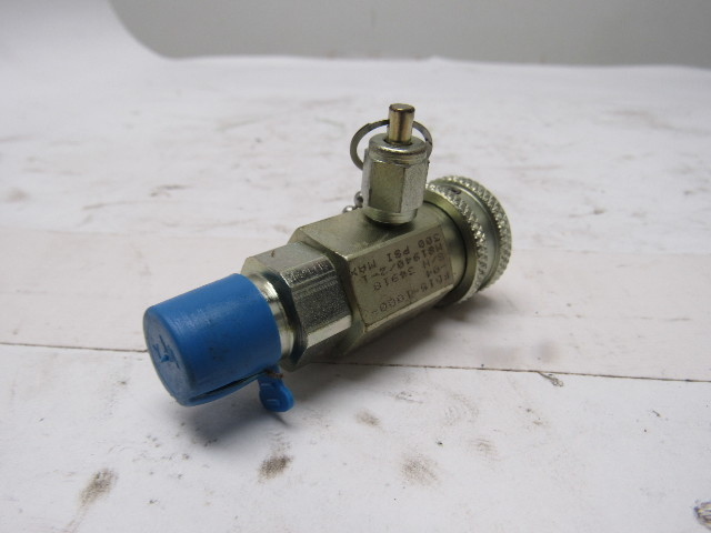 "Air Compressor Replacement Parts >> Aeroquip FD15-1000-04 300 PSI Oil Sampling Valve 1/4"" Port 