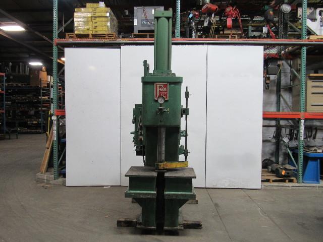 Fox 25 Ton Hydraulic C Frame Press 24\