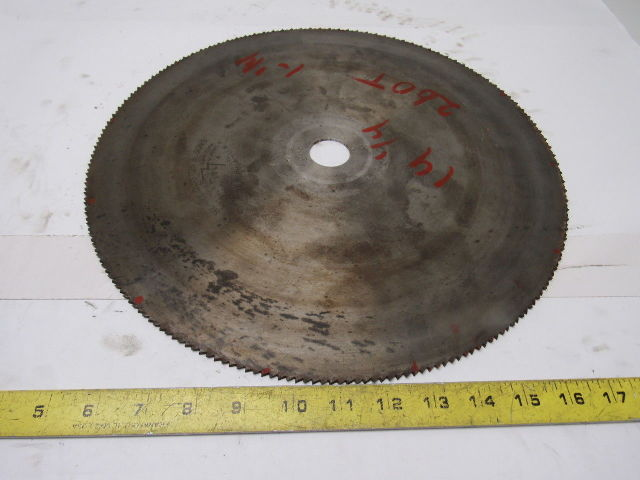 "15"" 260T 1-1/4"" Arbor Wood Cut Circular Saw Blade"