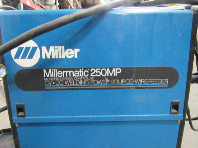 Miller Welders For Sale >> Miller Millermatic 250MP MiG Welder Package W/Wire Feeder ...
