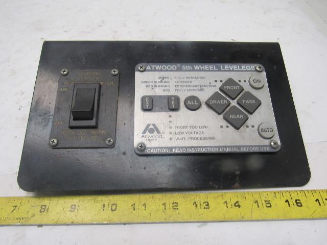 Atwood Levelegs Key Pad User Interface